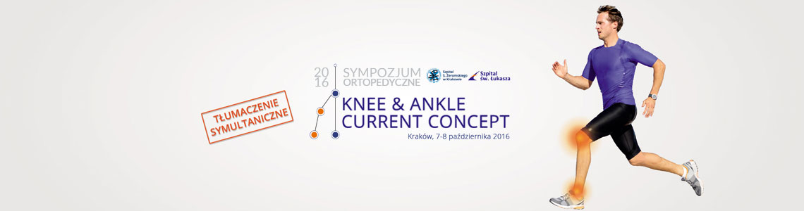 Knee & ankle current concept